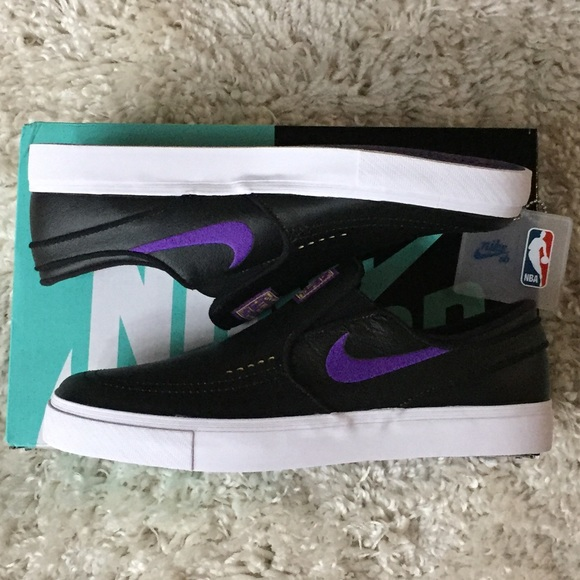 san francisco f6492 c6fd5 Nike SB X NBA Janoski LA Lakers BQ6396-024